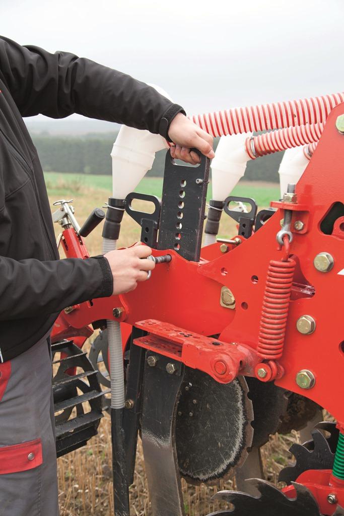 Il Kultistrip può essere regolato molto facilmente e senza attrezzatura specifica.