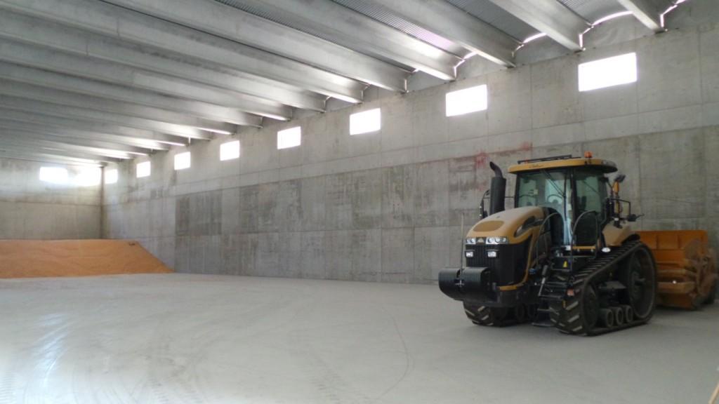 Grandi magazzini costruiti secondo i più moderni criteri di sicurezza.