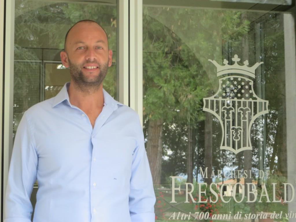Filippo Lascialfari dirige la Tenuta di Corte, azienda dei Marchesi de Frescobaldi a Borgo San Lorenzo (FI).