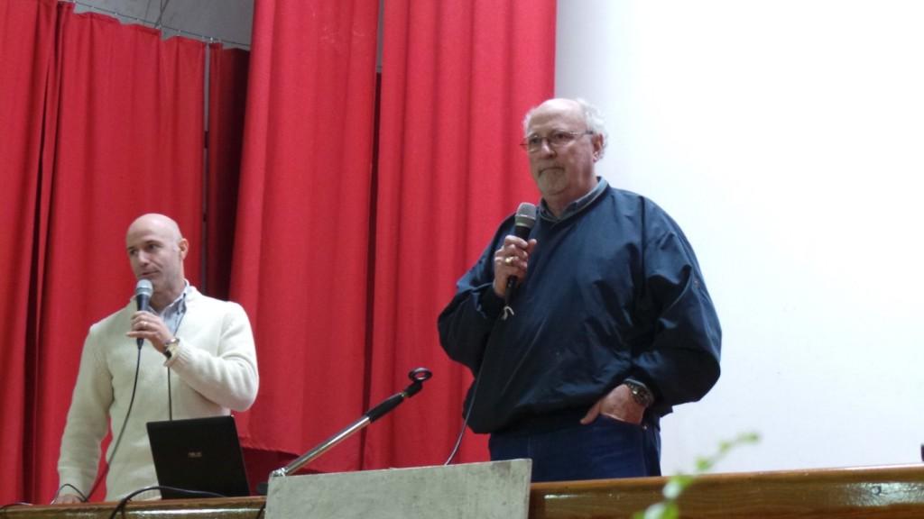 Da sinistra Mauro Agosti e Richard Edwards della Perdue University – Usa.