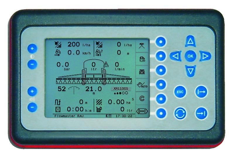 Il pannello di controllo Focus II.