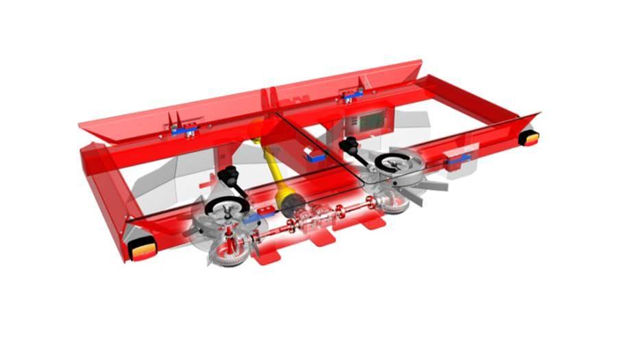 Il sistema di pesa elettronica degli spandiconcime Kverneland.